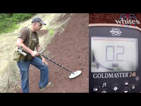 Whites Goldmaster Gmt 24k Metal Detector Shop Features
