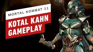 Mortal Kombat 11 - Kotal Kahn Gameplay and Move List Breakdown