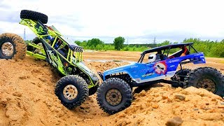 Axial Scx10 Jeep Rubicon Vs Wltoys Wild Track Rc