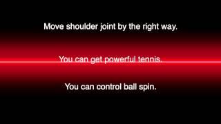 Improve Your Tennis Skills Shoulder joint sensor
