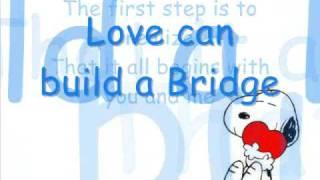 Westlife - Love can build a Bridge - With Lyrics