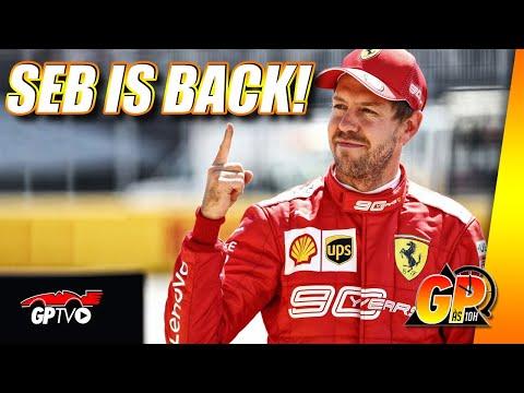 De quase aposentado a vencedor moral, Vettel renasce na F1 | GP às 10