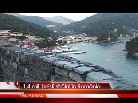 1,4 mil. turisti straini in Romania