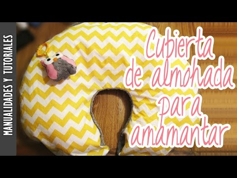 Tutorial Cubierta/Funda de Almohada para Amamantar (Boppy Pillow Cover) Los290ss