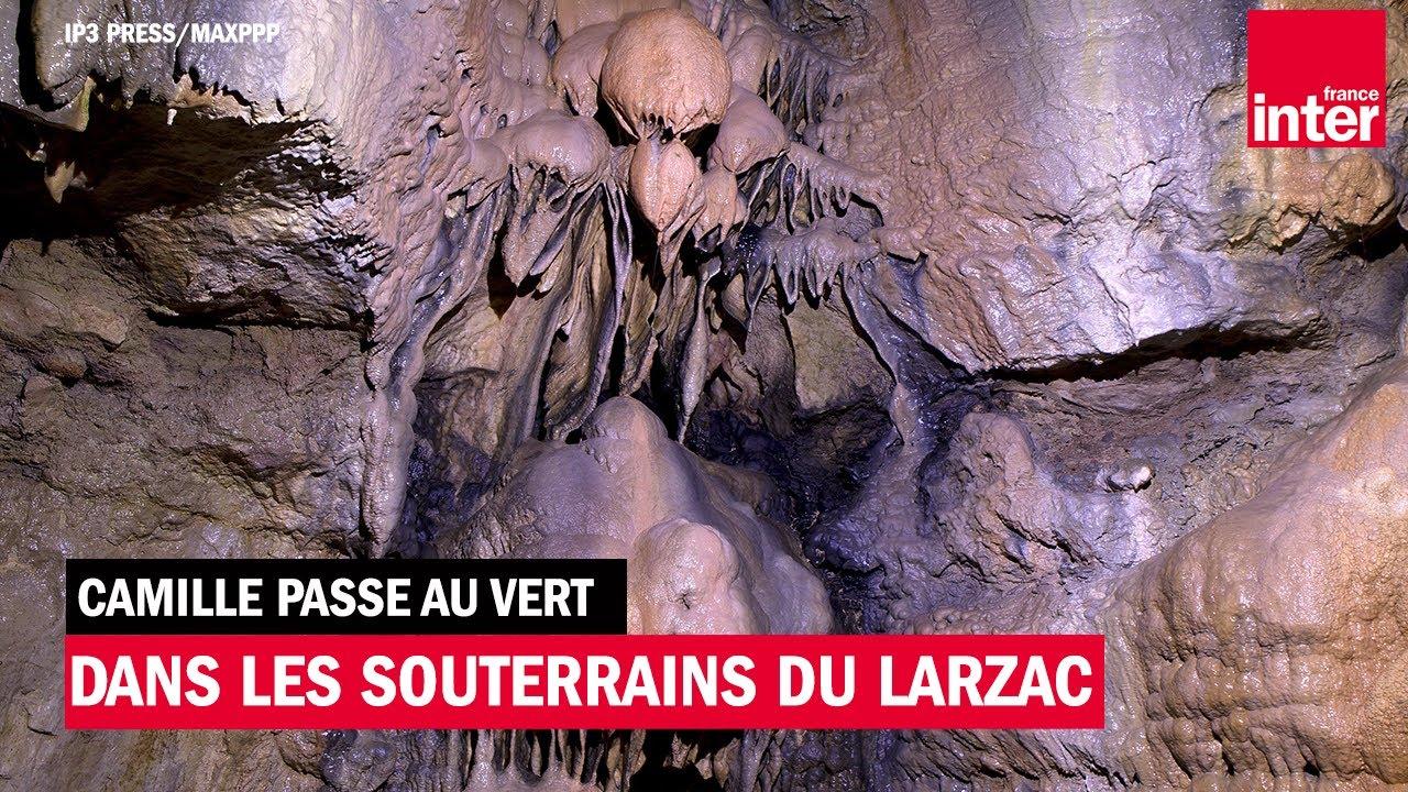 Plongée dans les souterrains du Larzac