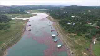 Lake Travis Rising - Memorial Day Flooding 2015 - Sandy Creek - Austin TX