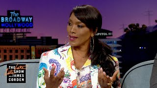 Angela Bassett Gave Her Twins Texting Machines | The Late Late Show - 18.09.2019