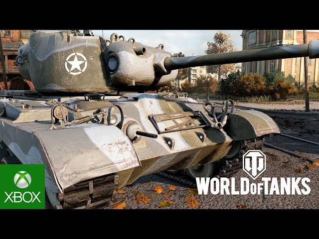 World of Tanks: Xbox One X 4K Enhancements