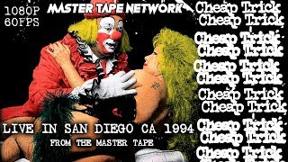 Cheap Trick Live in San Diego CA 1994 the lost concert 1080p 60fps
