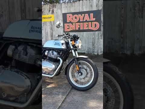 2021 Royal Enfield Continental GT 650 in Charleston, South Carolina - Video 1