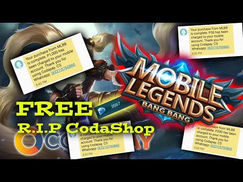 How to get free DIAMONDS on Codashop Mobile Legends