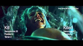 Kill Count AVPR (Aliens Vs Predator   Requiem)