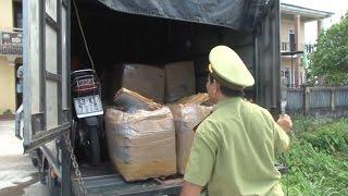 Thừa Thiên - Huế phát hiện xe tải vận chuyển gần 2,5 tấn nội tạng bẩn