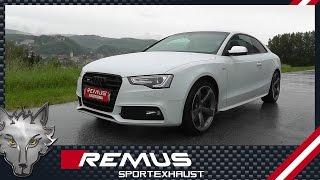 Video: Remus Komplettanlage ab Kat für Audi S4 mit V6 TFSI Motor