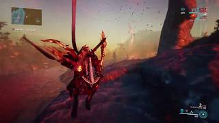 Warframe: Destroy X Vruush turrets in archwing without dying or getting downed