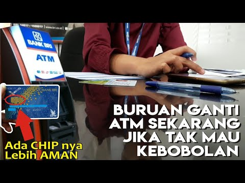 Proses Pembuatan Kartu ATM CHIP BRI ✔ | Tempe Channel