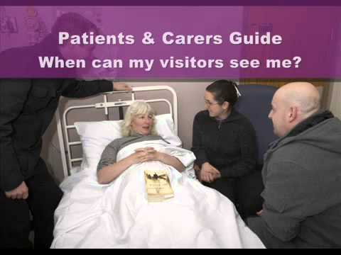 When can my visitors see me