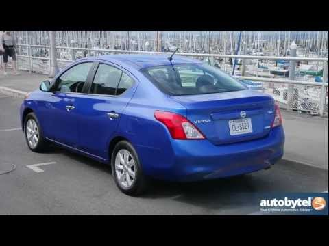 2012 Nissan Versa: Video Road Test and Review