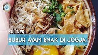 7 Bubur Ayam Paling Enak di Jogja, Cocok untuk Menu Sarapan