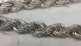 Jewellery How to make a rope chain by hand | Kholo.pk