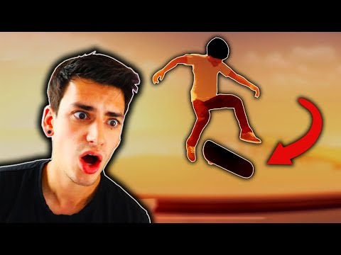 THIS PHONE SKATE GAME IS AMAZING?! (Skate City)