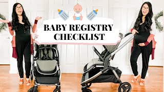 What To Put On Baby Registry 2020 | simple checklist for first time moms