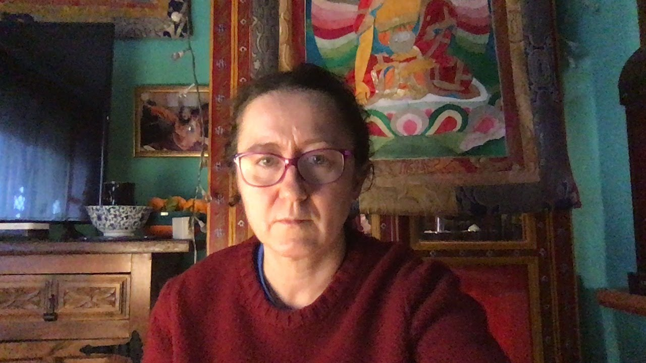 Combined Ngalso Self-Healing practices teaching with Lama Caroline - part 10