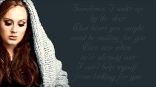 Adele - Set Fire to the Rain Lyrics Video