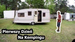 Pierwszy Dzień Na Polu Kempingowym w Sławie ... (Vlog #82)