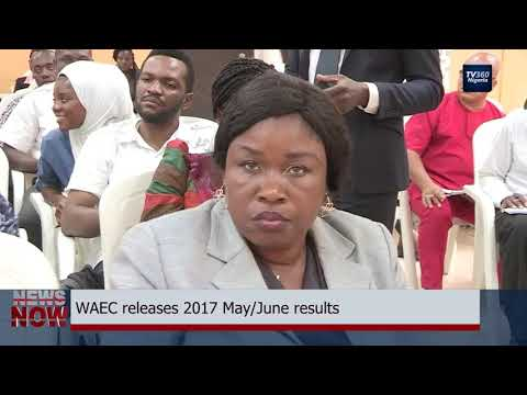 WAEC releases 2017 SSCE results (Nigerian News)