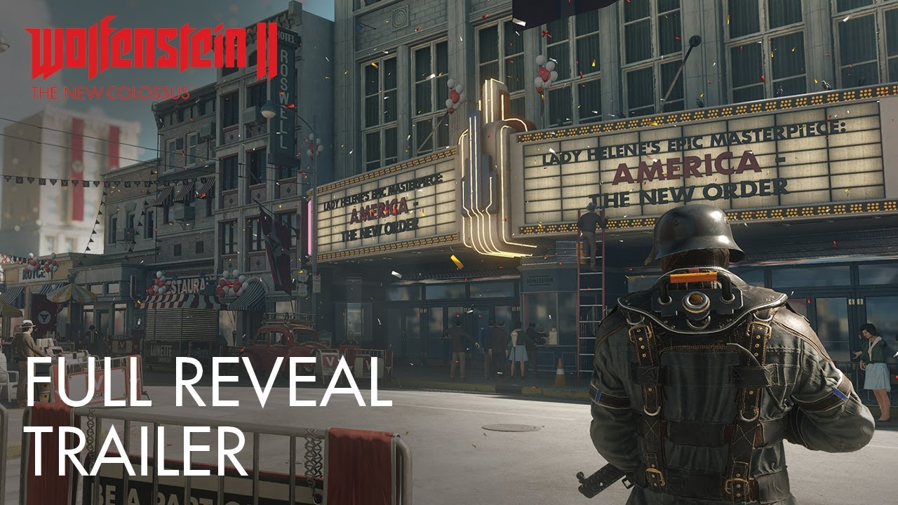 Trailer di Wolfenstein II: The New Colossus