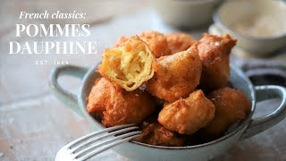 How To Make Pommes Dauphine: (French potato puffs recipe)