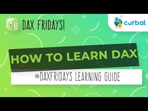 DAX Fridays! #82: How to learn DAX for beginners - YouTube