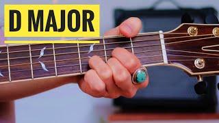D major chord | Beginner Guitar Lesson