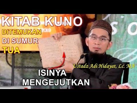 Ustadz Adi Hidayat Temukan Kitab KUNO Di Sumur Tua  Lihat Isinya! MASYAALLAH