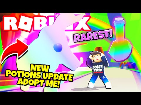 *BRAND NEW!* POTIONS UPDATE in Adopt Me! NEW Adopt Me Pet Potions Update (Roblox)