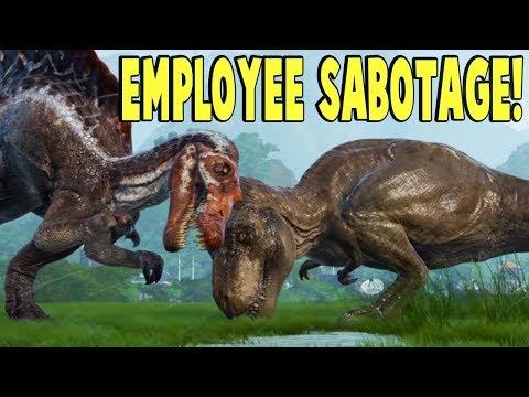*EMPLOYEE SABOTAGE CONFIRMED IN GAME!* Jurassic World News - Jurassic World Evolution Gameplay