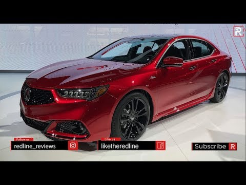 2020 Acura TLX PMC Edition – Redline: First Look – 2019 NYIAS