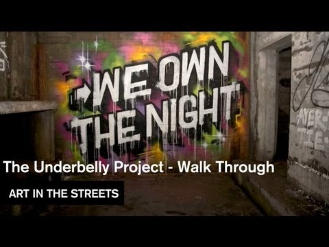 The Underbelly Project Walk Through Art In The Streets MOCAtv Ep 19