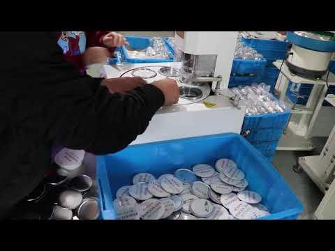 PPX Electric Automatic Button Maker Machine