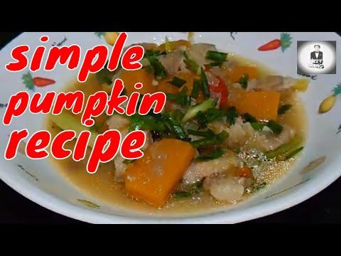 , title : 'Delicious yellow pumpkin recipe