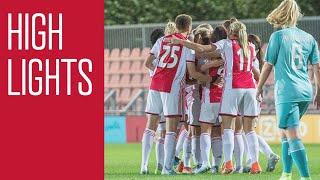 Highlights Ajax Vrouwen - FC Twente Vrouwen