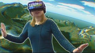 УЛЕТНЫЕ ИГРЫ для Oculus Rift (CyberSpace, AirDrift, HiyoshiJump) в Virtuality Club