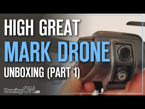 High Great Mark Drone Review (Part 1) – Unboxing & Analysis