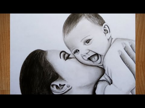 Mother's day special drawing || Lokartist ||