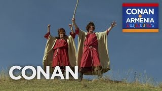 Conan & Sona Become Armenian Sheepherders  - CONAN on TBS