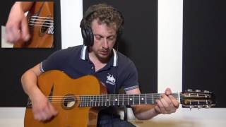 Adrien Moignard - Gypsy Jazz Chord Solo - All Of Me