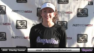 2023 Charley Conner 4.0 GPA, Middle Infielder, Outfield Softball Skills Video - Ca Grapettes Augusto
