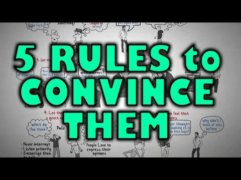 , title : 'How to Change Someone's Mind - 5 Rules to Follow