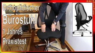 Rückengerecht - Ergonomisch - 1 Jahres-Praxistest - Gesundes Sitzen zum Schnäppchenpreis